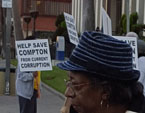 Compton Picket Sign 1